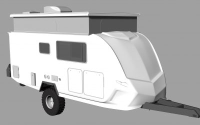 2 New Upcoming Wild Boar 16 Foot Luxury Caravans